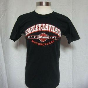 Harley Davidson S Twin Cities Black tshirt
